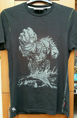 Marvel Comics The Incredible Hulk 'Armoured Hulk' Official Mens T-Shirt Medium • 7.89£