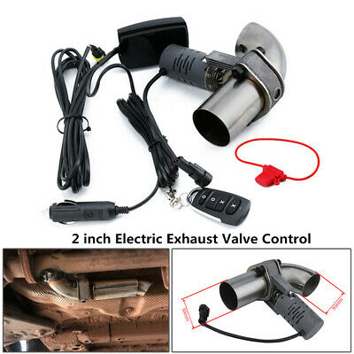 $ CDN148.57 • Buy 2'' Aluminum Electric Exhaust Valve Control Downpipe Cut Out Catback Remote
