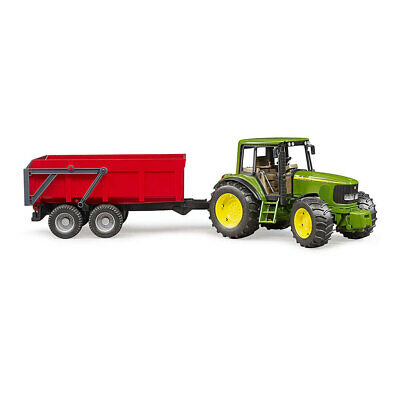 AU87 • Buy Bruder John Deere 3y+ 6920 Tipping Trailer Tractor W/Auto Tailgate 1:16 Kids Toy