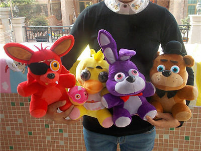 AU14.99 • Buy Five Nights At Freddy's 4 FNAF Horror Game Plush Doll Kids Plushie Toy Gift 10''
