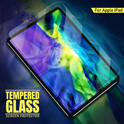 AU10.95 • Buy For Apple IPad Pro 11 12.9 Air 10.5 8th 7th Gen Tempered Glass Screen Protector