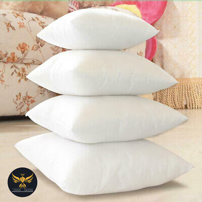 £7.88 • Buy Pack Of 2 4 6 Extra Deep Filled Plump 18x18 Inches Cushion Pads Inserts Fillers
