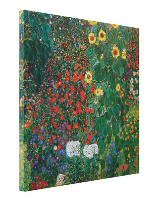 $ CDN191.14 • Buy Garden With Sunflowers By Gustav Klimt CANVAS Print Painting Gallery Wrap Large