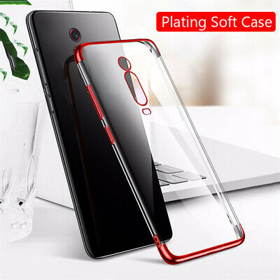 $2.99 • Buy For Xiaomi Mi 9T Pro 9 SE 9 Lite Slim Rubber Plating Clear Soft TPU Case Cover