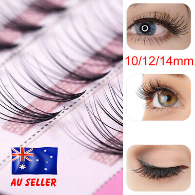 AU5.19 • Buy 10mm-14mm Volume Cluster Eyelash Extensions Individual Russian False Eye Lashes