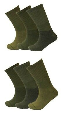 Men New Military Army Patrol Soldier Combat Boot Hiking Casual Padded Warm Socks • 5.49£