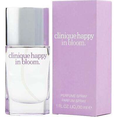 Clinique Happy In Bloom 30ml Perfume Spray Brand New & Sealed • 24.95£