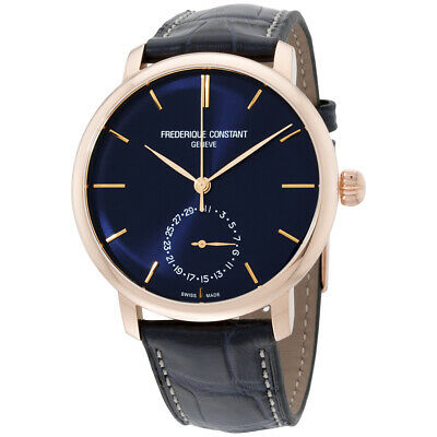 Frederique Constant FC-710N4S4 Men's Manufacture Slimline Automatic 42mm Watch • 1,079$