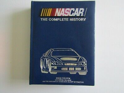 $6 • Buy  NASCAR:The Complete History, Padded Leather-Look Cover, Stock Car History Book