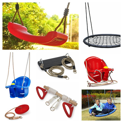 £23.49 • Buy Garden Outdoor Swings Climbing Rope Ladder Wooden Frame Wall Trapeze Safety