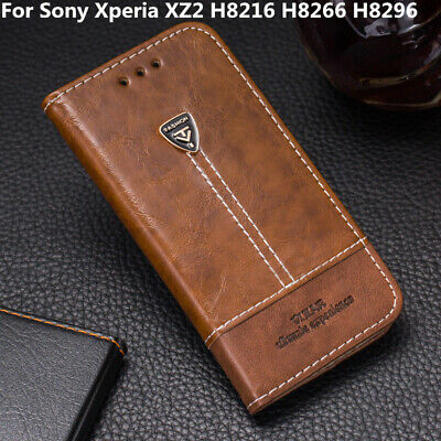 AU5.31 • Buy For Sony Xperia XZ2 H8216 H8266 H8296 Flip Pu Leather Cover Stand Wallet Case