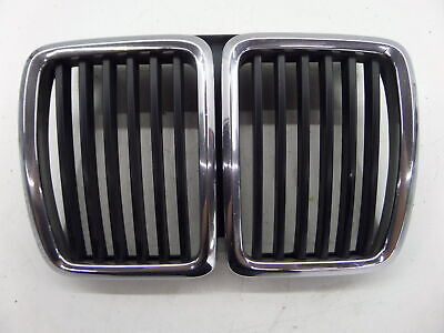 $69.99 • Buy BMW E30 318i 325i M3 Center Kidney Grille Grill NIQ Chrome Chipped 85-91 OEM 51.