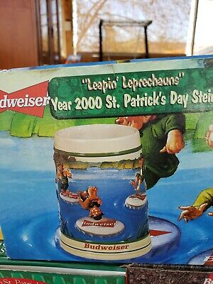 $ CDN28.80 • Buy St Patrick Day Budweiser Beer Stein