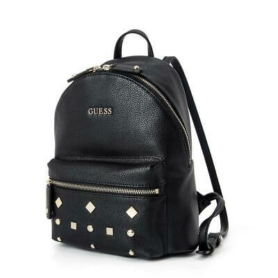 $ CDN62.47 • Buy Casual Womens Pebbled Backpack One Size Bag Black Handbags Travelling Bags Size