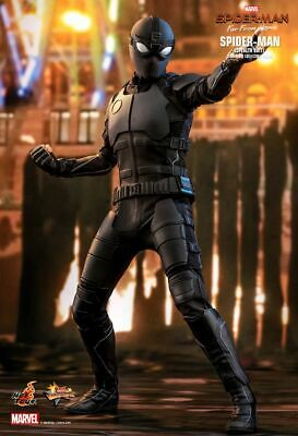 AU392.41 • Buy Hot Toys 1/6 MMS540 - Spider-Man: Far From Home - Spider-Man (Stealth Suit)