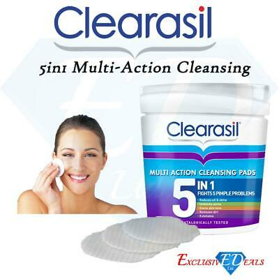 £6.95 • Buy Clearasil Ultra 5in1 Cleansing Pads Removes Dirt Unblocks Pores Exfoliates