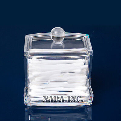 $ CDN7.44 • Buy Clear Acrylic Makeup Organizer Cosmetic Q-Tip Drawer Insert Holder Home Storage
