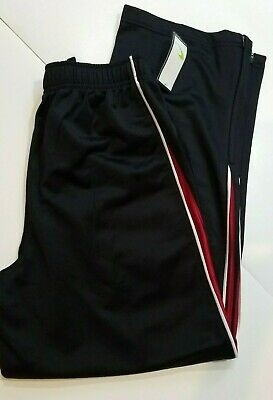 $19.99 • Buy Boys Tek Gear Brand Black Or Navy Blue Basketball Pants Zipper Leg Size L 14/16