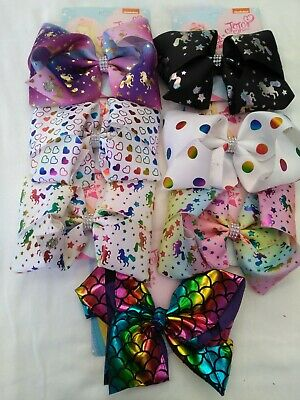 AU6.95 • Buy JoJo Siwa Bows, 8inch, Various Up-to-date Designs - Brand New In Australia