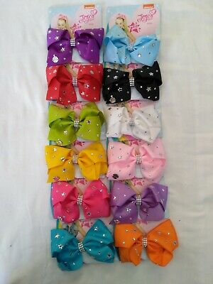 AU5.95 • Buy JoJo Siwa Bows, 6 Inch, Various Up-to-date Designs - Brand New In Australia