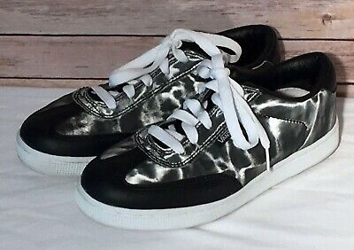 $54.75 • Buy Van's Women's Vintage  LUCY  Holographic Hologram Skate Shoes Sneakers Size 8.5