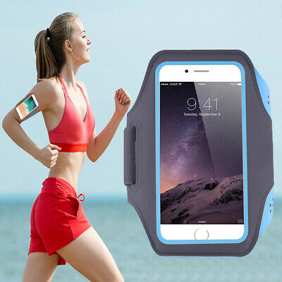 For Samsung Galaxy S10 S9 S8 Plus Sports Armbands Running Jogging Case Cover Bag • 10.99£