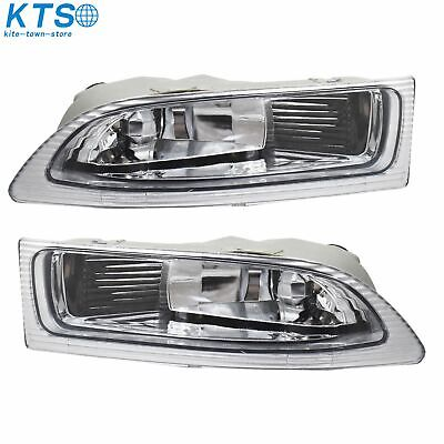 $39.99 • Buy One Pair Left+ Right Front Fog Driving Lamp Light US For 2004 2005 Toyota Sienna