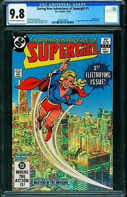 $140 • Buy Daring New Adventures Of Supergirl #1 CGC 9.8 Masters Of The Universe 2036120002