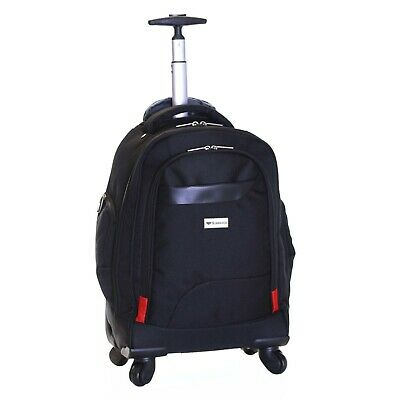 £29.99 • Buy 4 Wheels Cabin Laptop Computer Suitcase Trolley Hand Luggage Case Bag Backpack