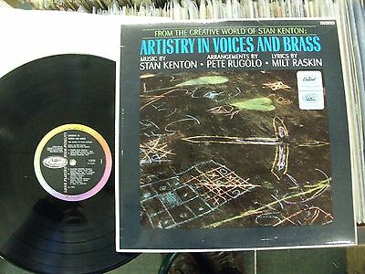 Stan Kenton: Artistry In Voices And Brass .1965 Capitol Mono.near Mint Upgrader! • 6£