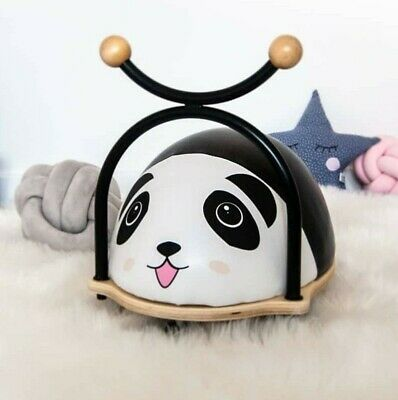 PANDA -Kids Wooden Wheely Bug / Ride On / Push Along / Balance Bike / Walker Toy • 38.99£
