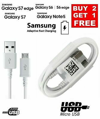 $ CDN3.33 • Buy Samsung Micro USB Fast Charger Data Sync Cable For Galaxy A3 A5 J3 S3 S6 S7 Edge