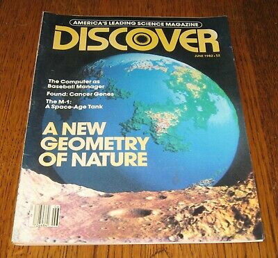 $5 • Buy DISCOVER Magazine JUNE 1982, THE M-1: A SPACE-AGE TANK, FOUND: CANCER GENES!