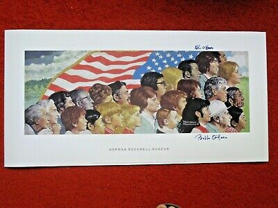 $ CDN533.35 • Buy SPIRIT OF AMERICA NORMAN ROCKWELL SIGNED MODEL PRINT Poster Elections America