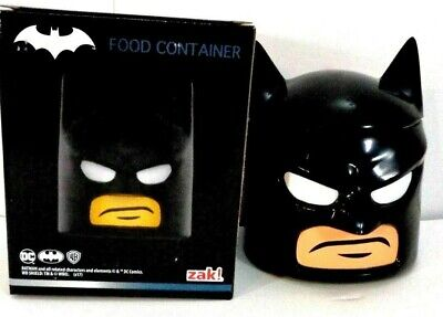 Loot Crate Lego Batman Zak! Food Storage Container Cookie Jar Minifigure Head • 6.51£