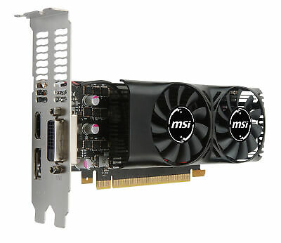 $ CDN643.19 • Buy MSI GeForce GTX 1050 Ti 4GB LP GDDR5 Graphics Card