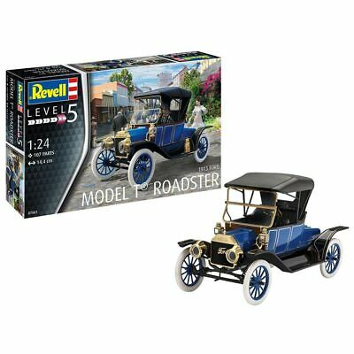REVELL Ford T Model Roadster (1913) 1:24 Car Model Kit 07661 • 24.95£