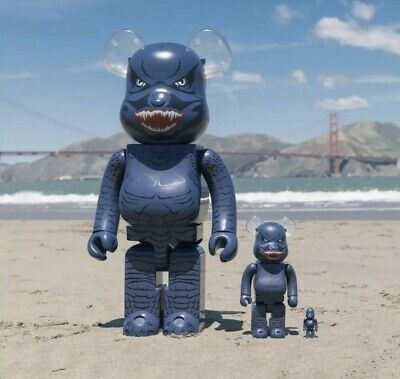 $230 • Buy Bearbrick Godzilla King Of Monsters 400% + 100% Set Bait 2019 SDCC **CONFIRMED**
