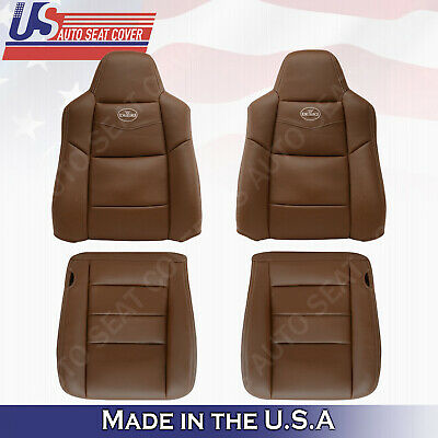 $668.25 • Buy 2003 2004 2005 2006 2007 Ford F250 Crew Cab *KING RANCH* Front Vinyl Seat Covers
