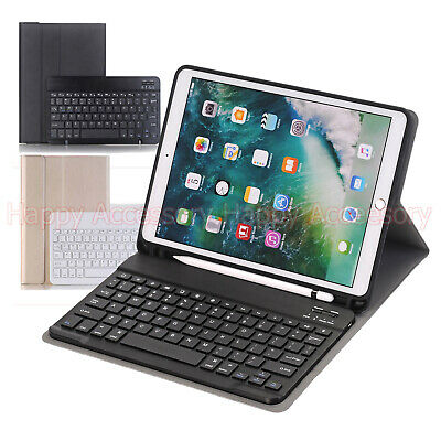 AU36.99 • Buy Detachable Bluetooth Keyboard Leather Case For Apple IPad Air 3 2019, Pro 10.5