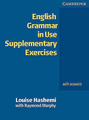 £12 • Buy English Grammar In Use Supplementary Exercises
