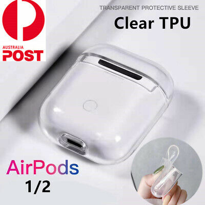 AU7.99 • Buy Shockproof For Apple Airpods Airpod Case Cover Clear Transparent Skin TPU Holder
