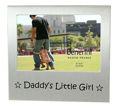 £5.50 • Buy Daddy's Little Girl Photo Picture Frame Father's Day Birthday Christmas Dad Gift