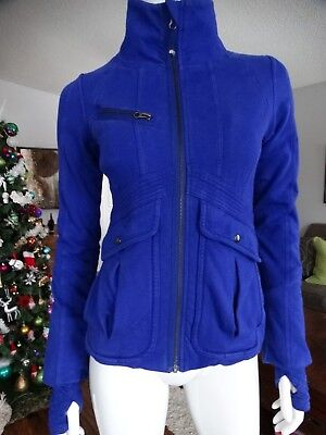 $ CDN89.99 • Buy LULULEMON It's Happening Jacket Pigment Blue 6