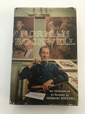 $ CDN25.05 • Buy NORMAN ROCKWELL My Adventures As An Illustrator FIRST EDITION With DUST JACKET
