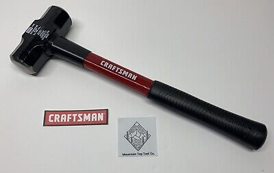 View Details NEW Craftsman 38261 48 Oz. Engineers Fiberglass Hammer Sledge Hammer MADE IN USA • 38.95$