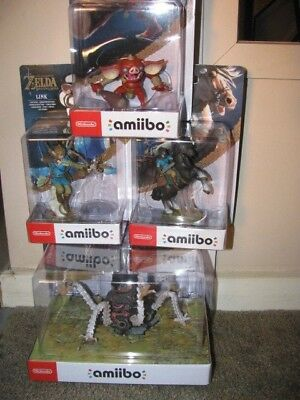 AU349.95 • Buy Bulk Amiibos - Guardian, Link Rider, Link Archer And Bokoblin - Bnib Last One