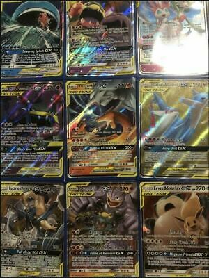 AU19.95 • Buy Pokemon Cards TCG 50 Bulk Lot 1x ULTRA RARE Team GX 9 Rares/shiny Amazing Gift