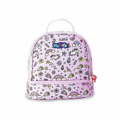 $ CDN29.21 • Buy Nuby Lunch Bag, Double Decker Insulated School Lunch Bag With 2 Compartments, By