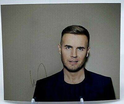 Gary Barlow Signed 10x8 Photo AFTAL OnlineCOA • 40£